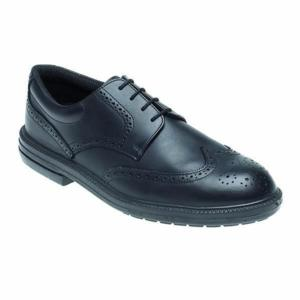 912 Black Brogue Shoe